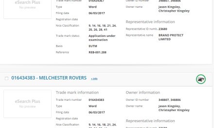 Roy of the Rovers and Melchester Rovers trademarks applied for by the lads behind rebellion RoyOfTheRovers MelchesterRovers