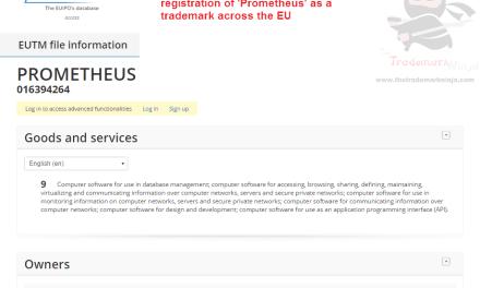 The Linux foundation applies for EU trademark for Prometheus