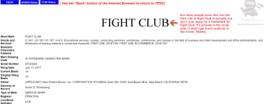 FIGHT CLUB Does anybody know what the 43rd Rule of Fight Club is