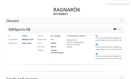 EUTM – Swedish company applies for EU Trademark for Ragnarok for good supplements #Thor #Ragnorok #ThorRagnarok