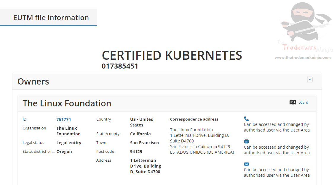 The Linux Foundation applies for EUTM for Certified Kubernetes #Linux #Kubernetes