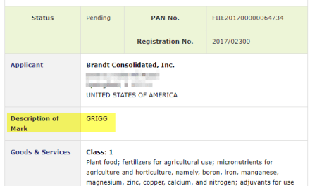 US company applies for 'Grigg' as a trademark in Ireland #Grigg #Trademark #TrademarkIreland