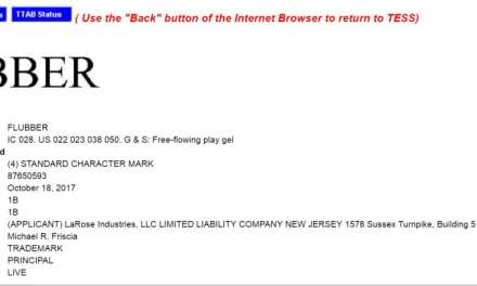 Youve seen the film (well I have) now buy the real thing Flubber US trademark filed last week #USTM