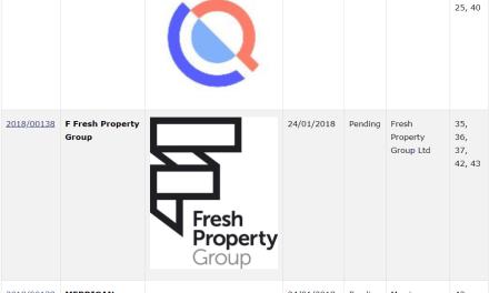 Trademark Ireland TM Filings for WalkInMyShoes SelfieSteem Qilta FreshPropertyGroup TM Trademarks Trademark