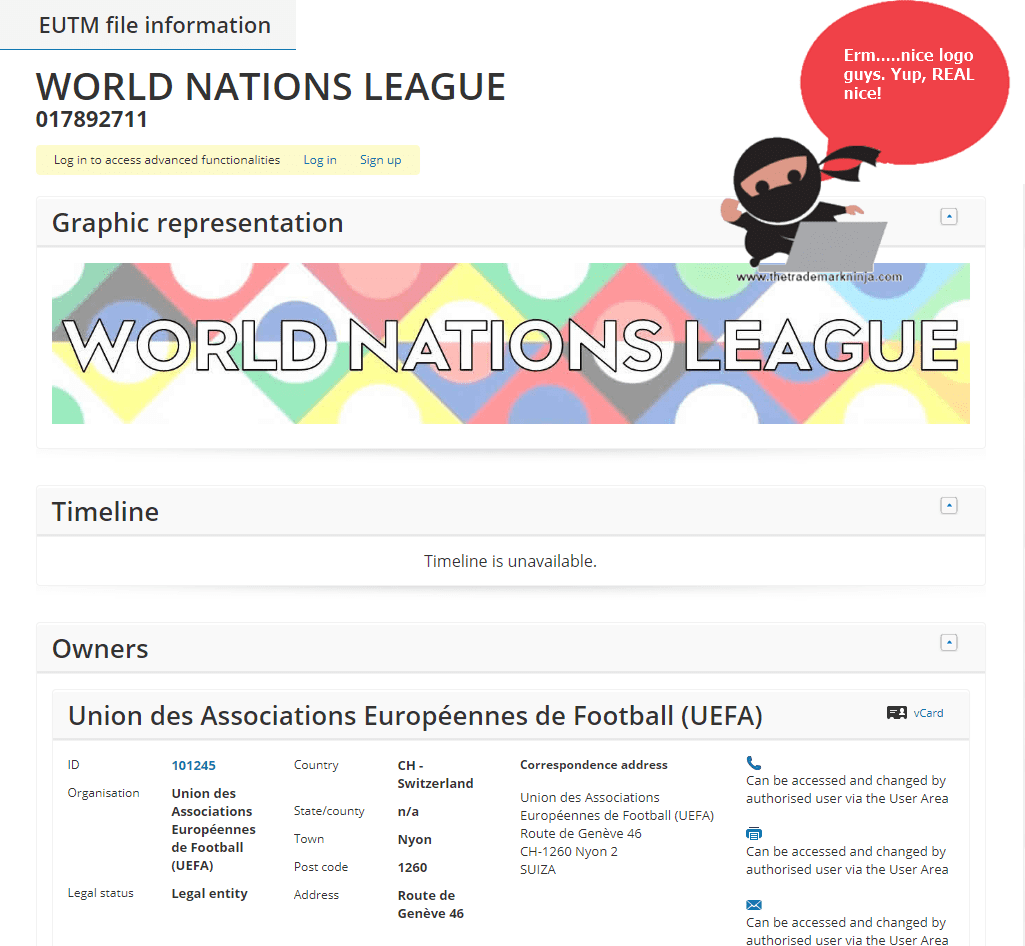 EUFA WORLD NATIONS LEAGUE LOGO