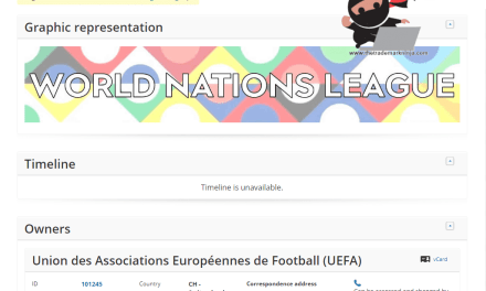 UEFA World Nations League Logo Revealed – It's, eh, lovely.