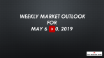 Weekly Market Outlook For May 6 - 10, 2019