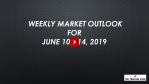 Weekly Market Outlook For June 10 - 14, 2019