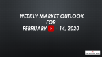 Weekly Market Outlook For February 10 - 14, 2020 - A Correction on the Horizon