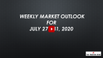 Weekly Market Outlook For July 27 - 31, 2020 - More Volatility Ahead