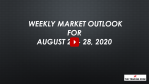 Weekly Market Outlook For August 24 - 28, 2020 - Enjoy The Bull Market