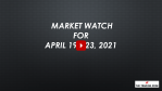 Market Watch For April 19-23, 2021 - Market Watch 🔍