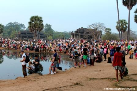 Angkor Wat Sunrise Crowds