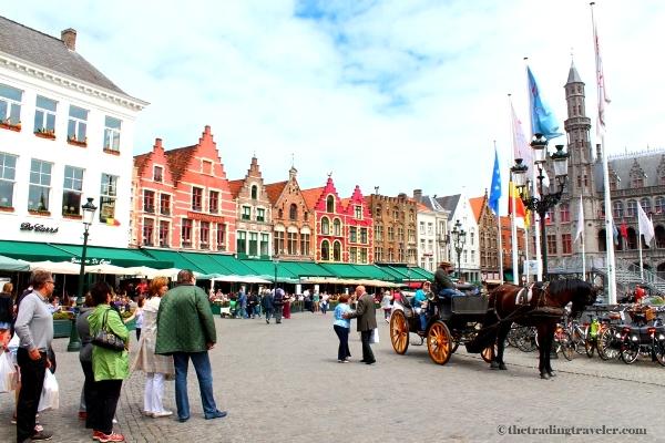 grote markt main square bruges