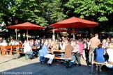 viktualienmarkt munich biergarten