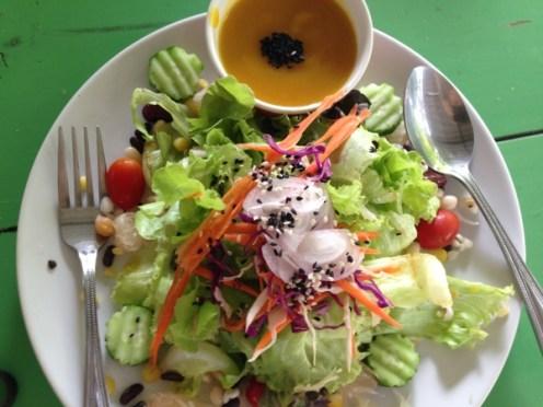 mixed veggie salad
