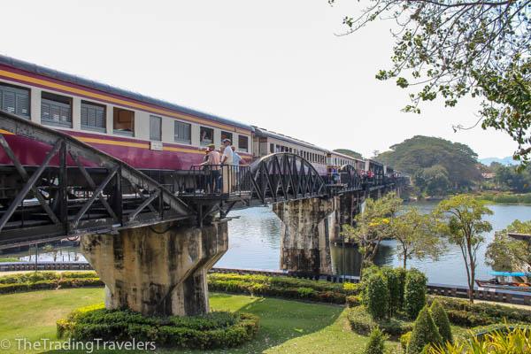 bridge on the river kwai kanchanaburi thailand