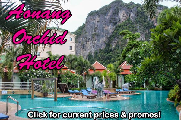 aonang krabi hotels travel guide