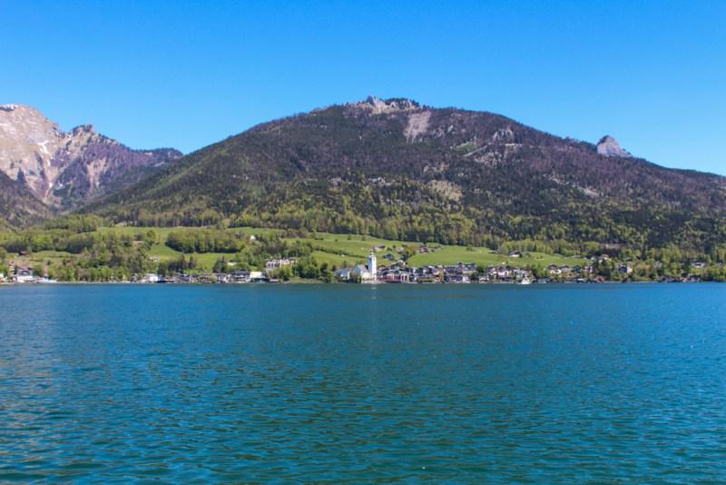 wolfgangsee lake district austria