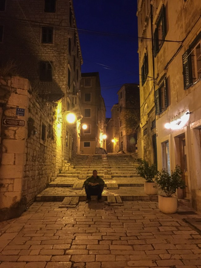 sibenik croatia old town