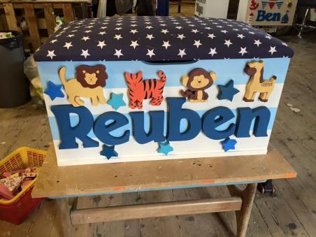 Boys Toy Boxes – The Traditional Toy Box Company