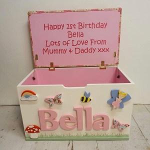 woodland fairy toy box