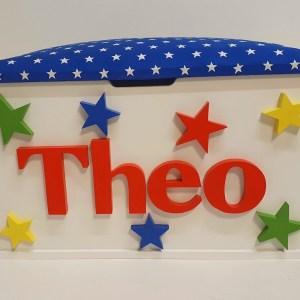 colourful star toy box