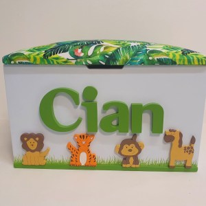 jungle safari toy box