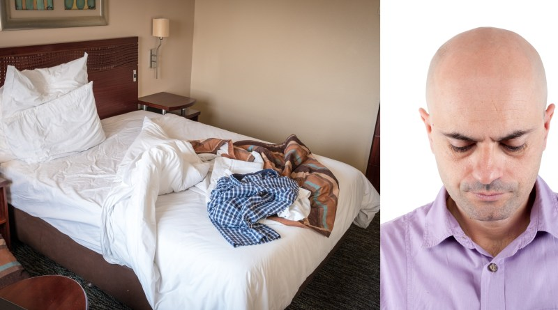 Hotel mattress has higher sperm count than man sleeping on it