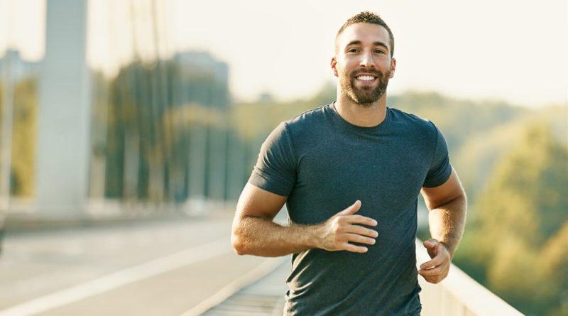 This man runs 10 km every morning