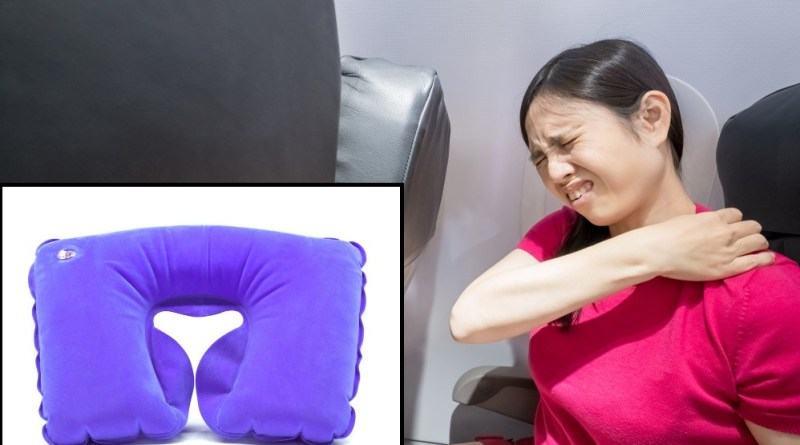 Neck pillow uncomfortable