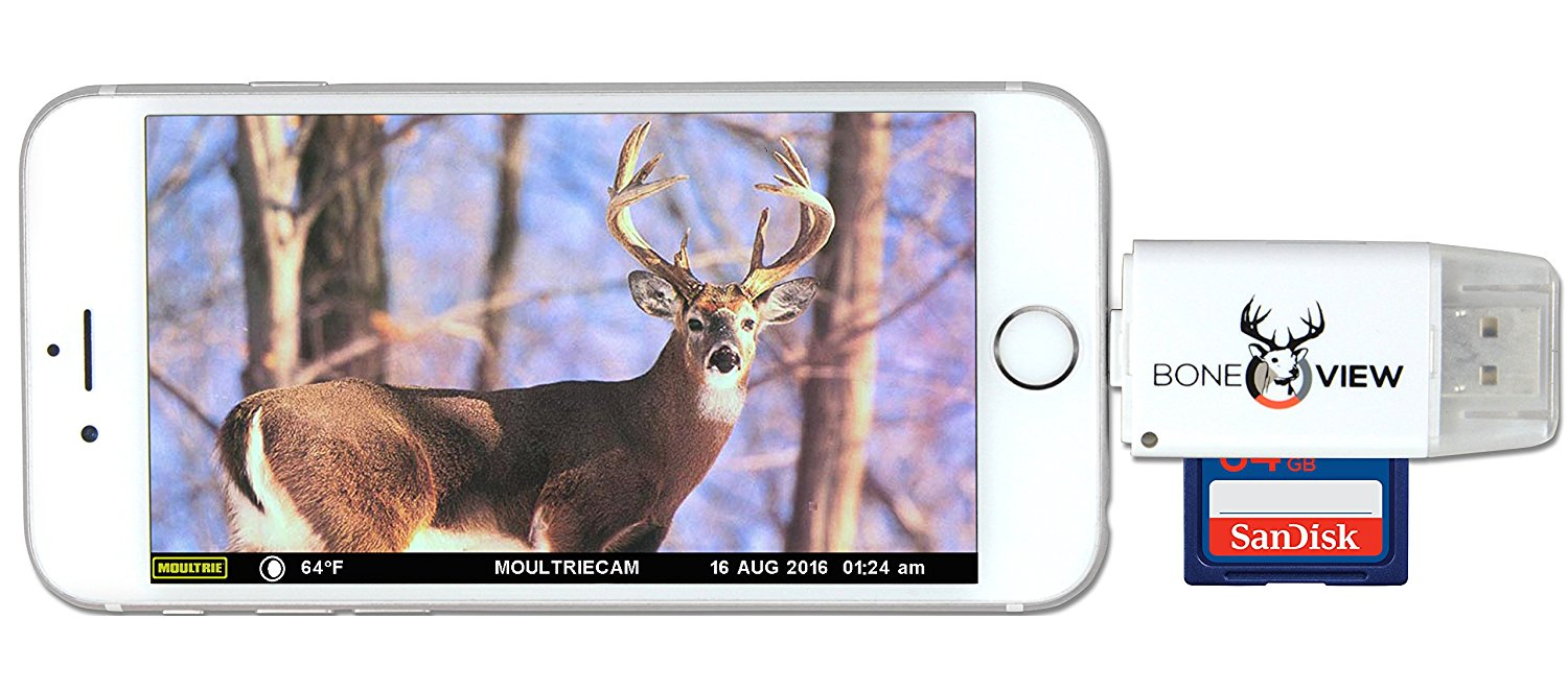stealth cam sd card reader for android instructions