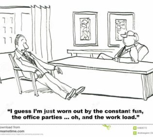 fun-work-business-cartoon-corporate-culture-businessman-enjoys-his-workplace-environment-64826772