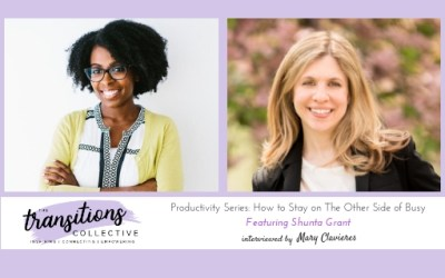 Episode 12: Productivity Series: How to Stay on The Other Side of Busy