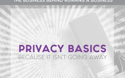 Episode 96: Privacy Basics … Because It Isn't Going Away