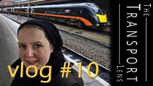 Bus and Train Spotting Vlog at York