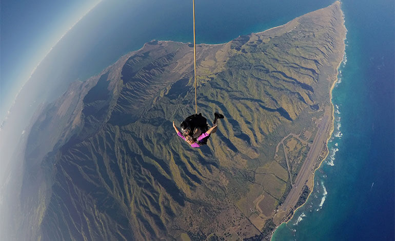 Skydiving in Hawaii Photo6