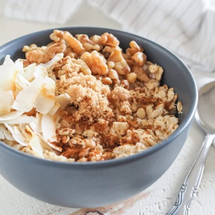 the best 90 second microwave oatmeal