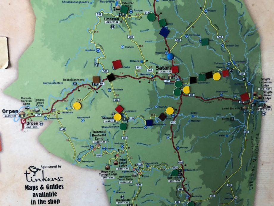 Magnet tavle i Kruger