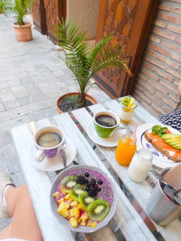 Malaga breakfast