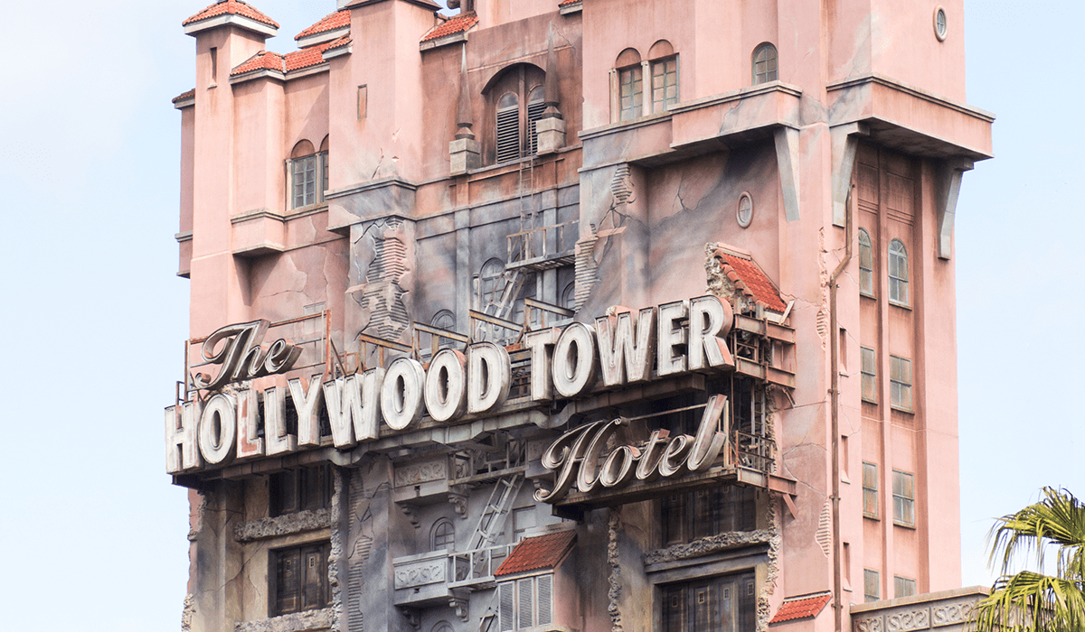 The Tpwer of Terror. Hollywood Studios. Walt Disney World Orlando by The Travel Book co.