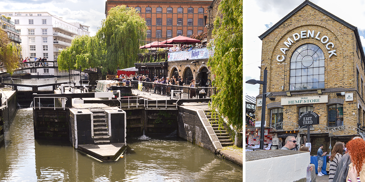 Camden Town. London Guide by The Travel Book Co