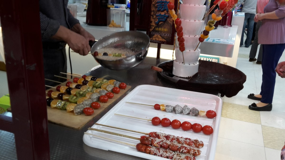 Chinese Delicacies: Calorie Bombs on a Stick (Tanghulu)