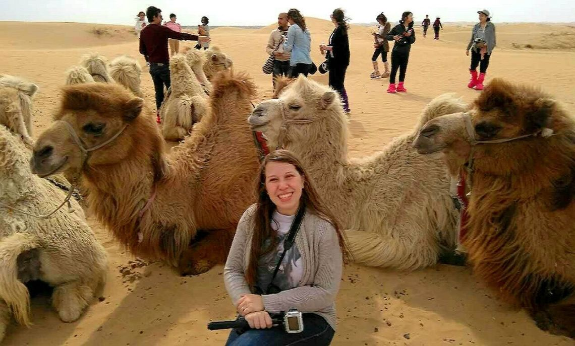 , Where to Ride a Camel in China?, The Travel Bug Bite