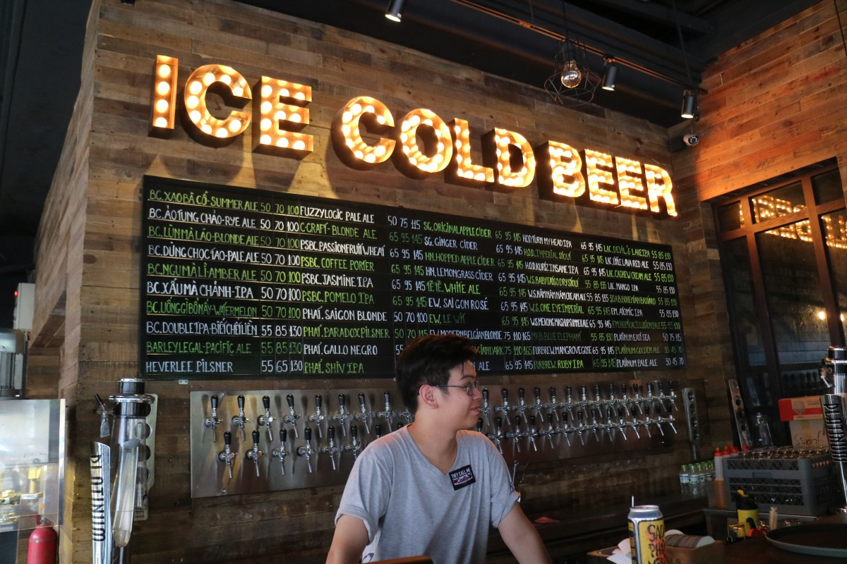 Draft Beers & Ciders at BiaCraft Artisan Ales in Ho Chi Minh