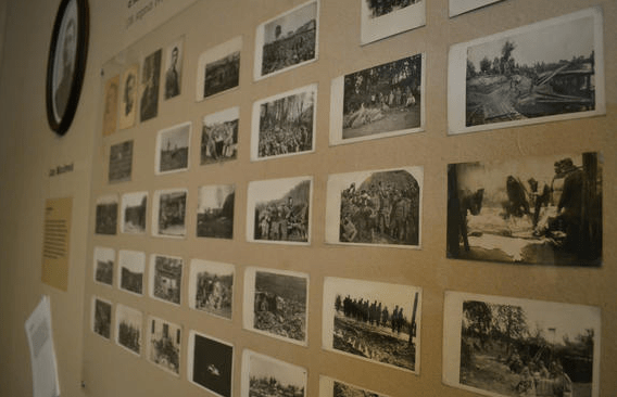 , 100th Anniversary of WWI – DOX Front Line Exhibition