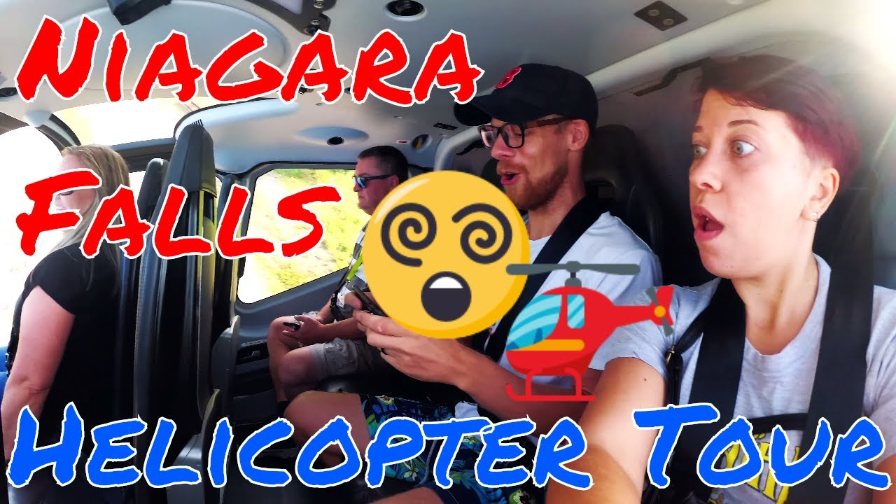 , Helicopter Ride Over Niagara Falls (Video), The Travel Bug Bite