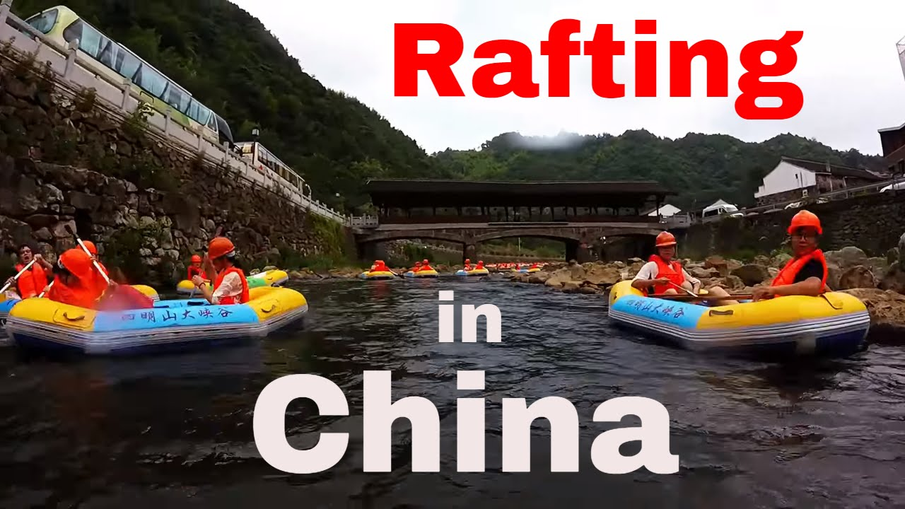 , Beach and Tubing in Xiangshan, China (Video), The Travel Bug Bite