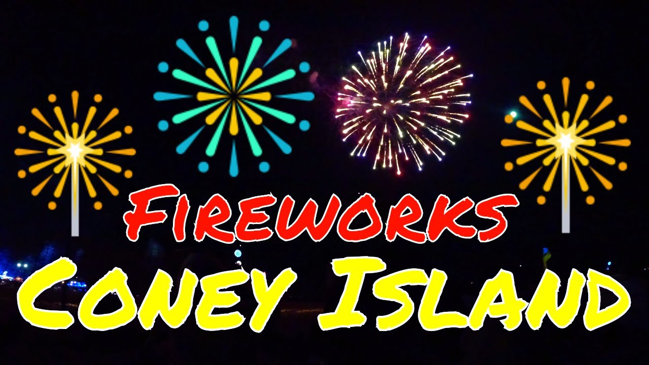 , Last Firework Display of Summer 2018: Coney Island, NYC, The Travel Bug Bite