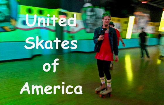 United Skates of America Halloween skating